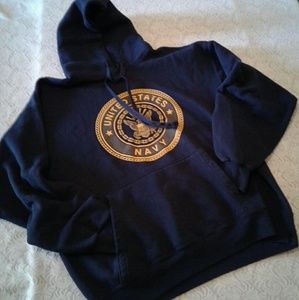 🌺 Men's Nearly New U.S.Navy Soffe Fleece Hoodie